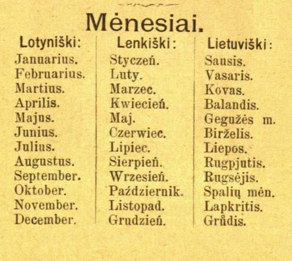 Daiktavardžiai iš n raidės